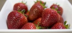 Strawberries close up