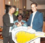 Guy Watson, Margaret Kifuko and Martin Geake