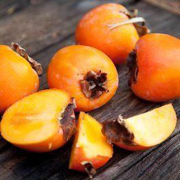organic persimmon fruit