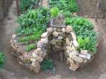 keyhole garden - Penny's Gardening Blog