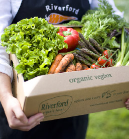 Our Organic, home delivered vegboxes